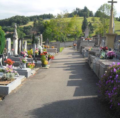 cimetière de la Gresle