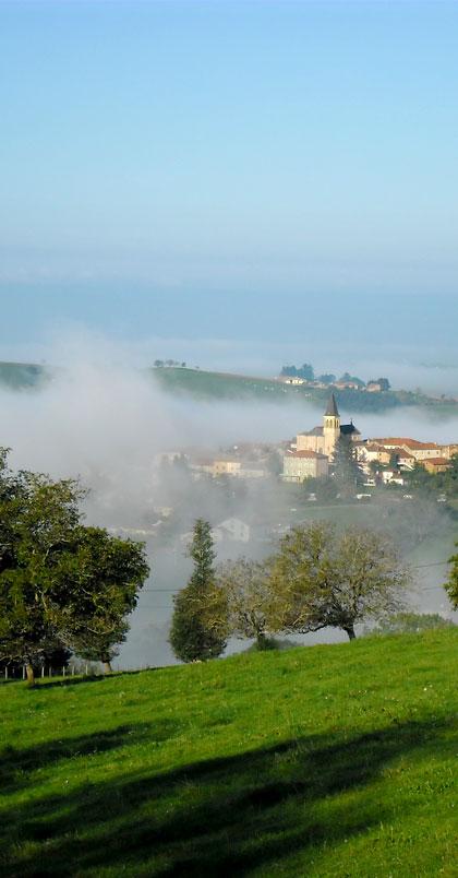 village de La Gresle